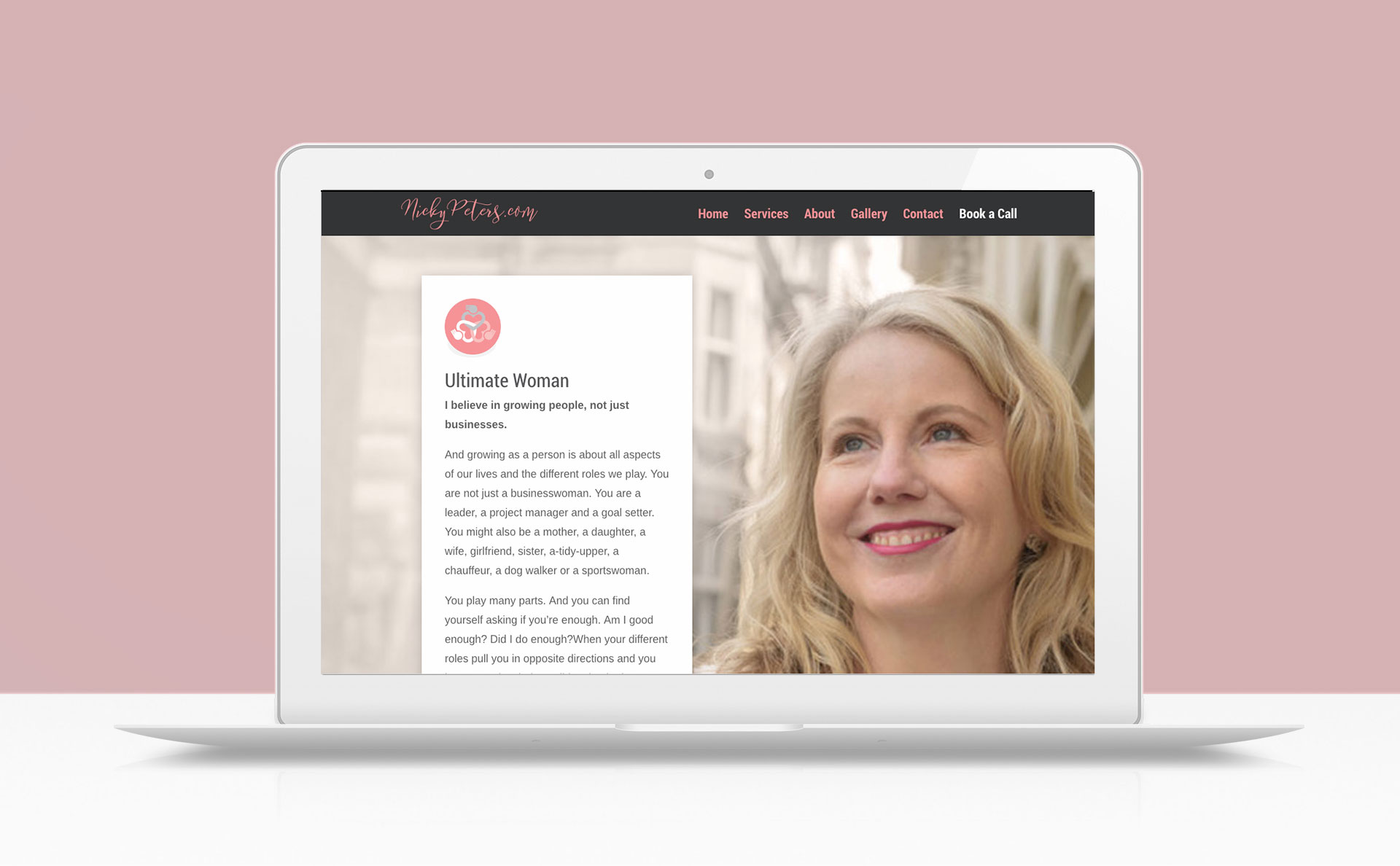 nickey-peters-website-design