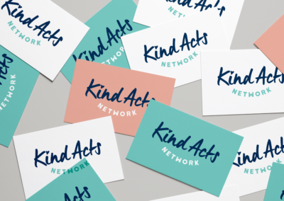 Kind Acts Business Cards